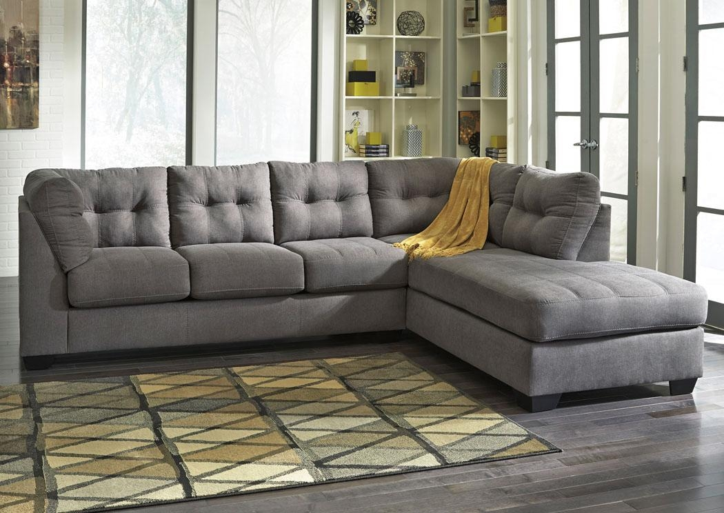 Wow Furniture – Dallas, Tx Maier Charcoal Right Arm Facing Chaise Inside Dallas Sleeper Sofas (Image 20 of 20)