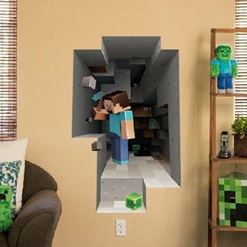 Zspmed Of Minecraft Wall Art Intended For Minecraft Wall Art Uk (View 2 of 20)