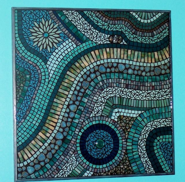 Zspmed Of Mosaic Wall Art In Diy Mosaic Wall Art (Photo 9 of 20)