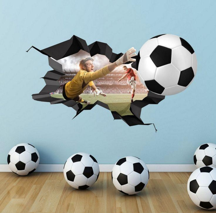 10 Best Football Fever Images On Pinterest | Football Fever, Wall In Football 3D Wall Art (Image 1 of 20)