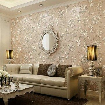 10M Continental 3D Stereoscopic Wall Sticker Paper Living Room Regarding 3D Wall Art For Living Room (Image 1 of 20)