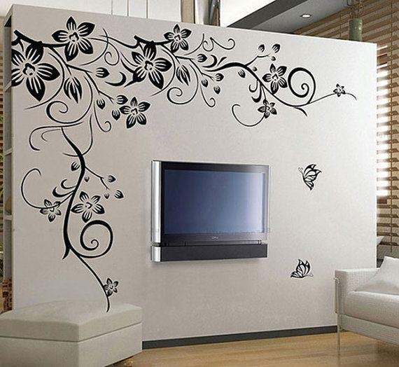 111 Best Butterfly Wall Decals Images On Pinterest | Butterfly For 3D Removable Butterfly Wall Art Stickers (View 7 of 20)