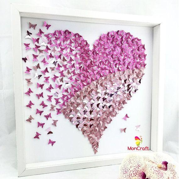 113 Best Personalised Wall Art Images On Pinterest | Personalized With 3D Wall Art Etsy (Image 1 of 20)