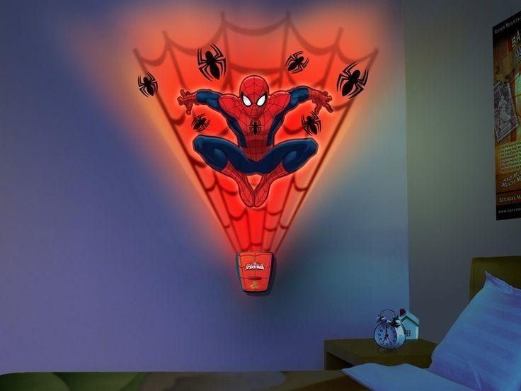 15 Best Kids Cartoon Character Night Lights Images On Pinterest Within 3D Wall Art Night Light Australia (Image 1 of 20)