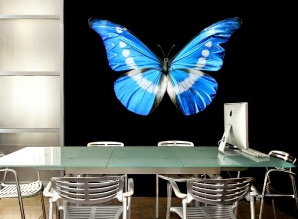20 Decorative 3D Wall Art Panels And Stickers | 3D Wall Decor With 3D Removable Butterfly Wall Art Stickers (View 17 of 20)