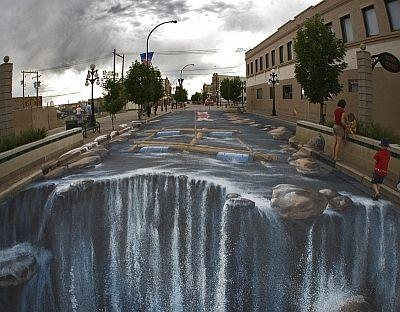22 Best 3D Art Images On Pinterest Regarding 3D Wall Art Illusions (Image 2 of 20)