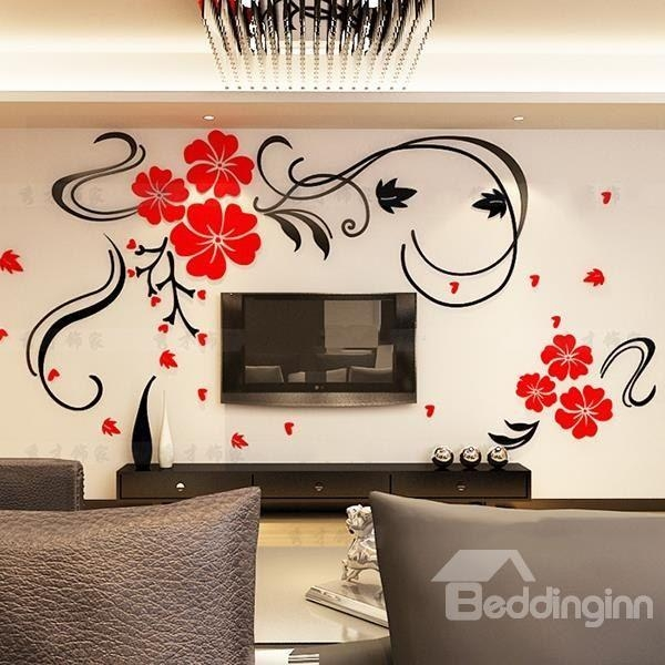 229 Best 3D Wall Stickers Images On Pinterest | Wall Stickers, 3D In Decorative 3D Wall Art Stickers (Photo 2 of 20)