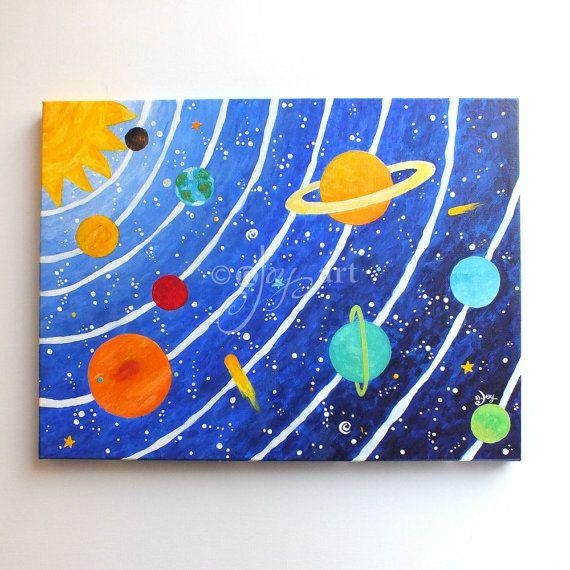 25+ Unique 3D Solar System Ideas On Pinterest | Planet Project For 3D Solar System Wall Art Decor (Image 1 of 20)
