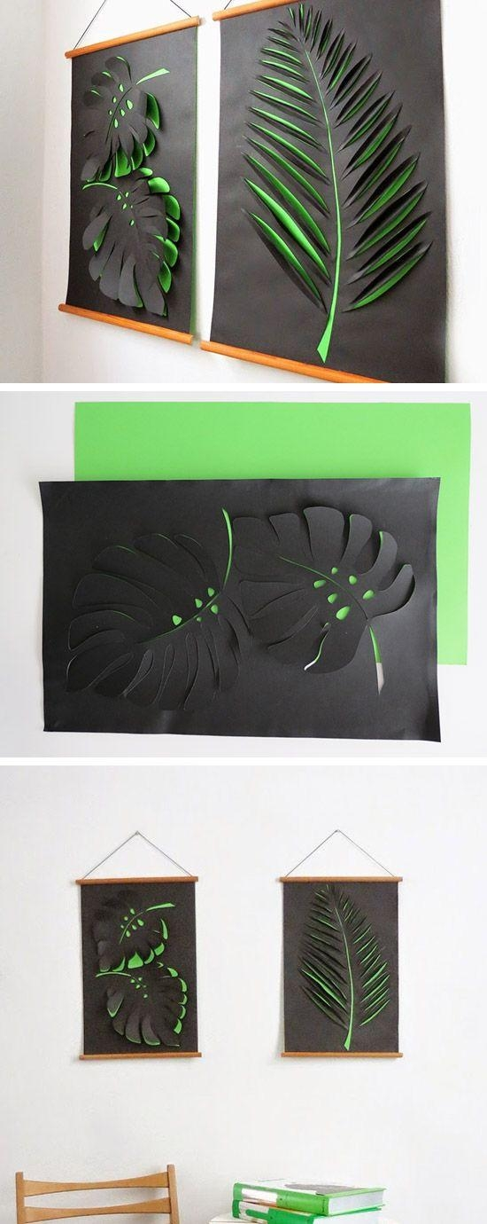 25+ Unique 3D Wall Art Ideas On Pinterest | Butterfly Wall, Diy Inside Unique 3D Wall Art (Photo 18 of 20)
