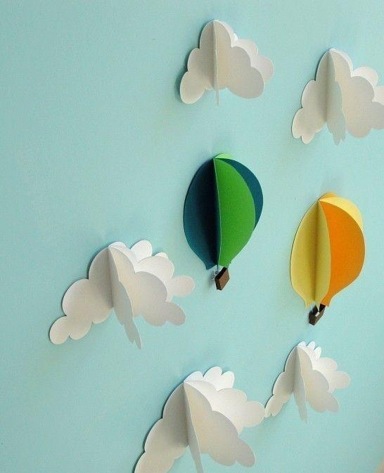 25+ Unique 3D Wall Art Ideas On Pinterest | Butterfly Wall, Diy Throughout Diy 3D Paper Wall Art (Image 4 of 20)