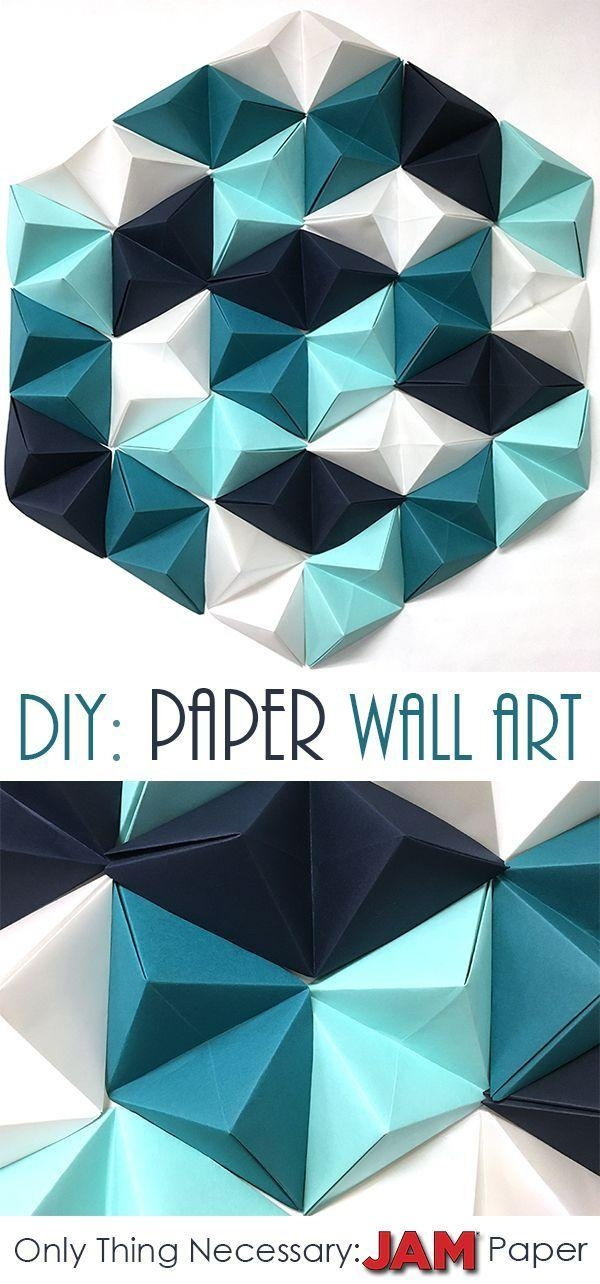 25+ Unique 3D Wall Art Ideas On Pinterest | Butterfly Wall, Diy Throughout Unique 3D Wall Art (Image 2 of 20)