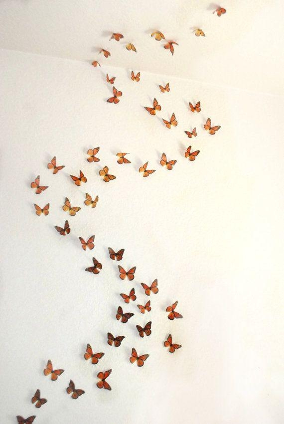 25+ Unique 3D Wall Art Ideas On Pinterest | Butterfly Wall, Diy With 3D Wall Art Etsy (Image 5 of 20)