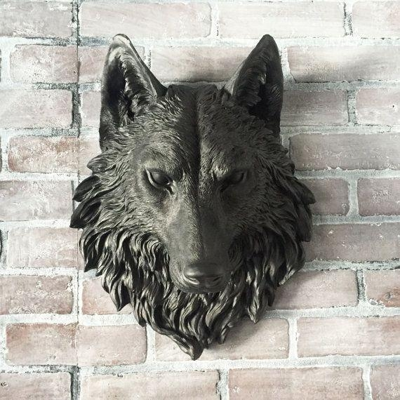 25+ Unique 3D Wall Decor Ideas On Pinterest | 3D Flower Wall Decor For Wolf 3D Wall Art (Image 1 of 20)