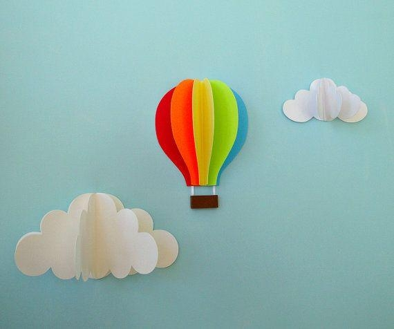 Featured Image of Air Balloon 3D Wall Art