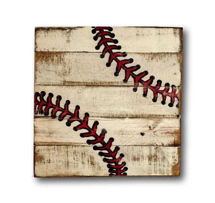 25+ Unique Baseball Wall Art Ideas On Pinterest | Baseball Wall Regarding Baseball 3D Wall Art (Image 4 of 20)
