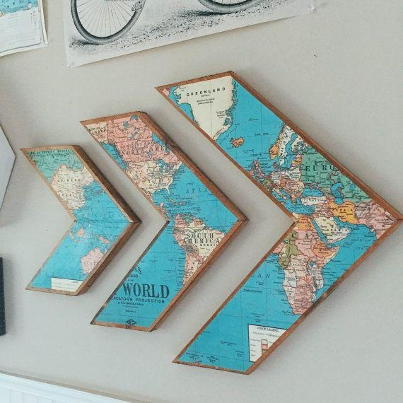 25+ Unique Diy Wall Art Ideas On Pinterest | Diy Wall Decor, Diy Inside 3D Triangle Wall Art (Image 2 of 20)
