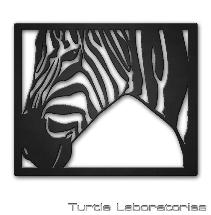 25+ Unique Metal Wall Art Ideas On Pinterest | Metal Art Decor Inside Zebra 3D Wall Art (Image 2 of 20)