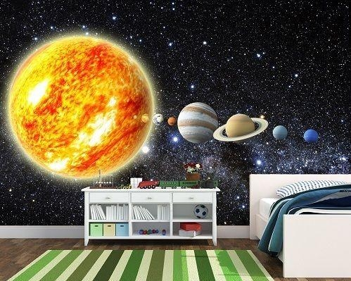 25+ Unique Solar System Room Ideas On Pinterest | Boys Space In 3D Solar System Wall Art Decor (Photo 5 of 20)