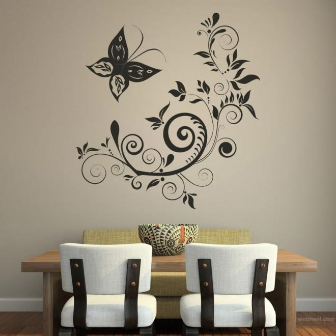 30 Beautiful Wall Art Ideas And Diy Wall Paintings For Your Throughout 3D Wall Art For Bedrooms (Image 4 of 20)