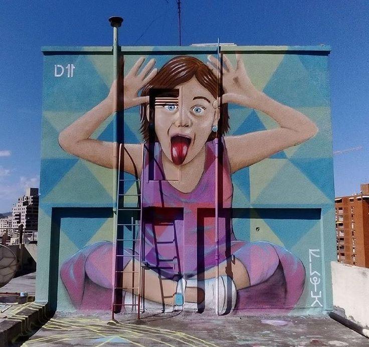 308 Best + Street Art Images On Pinterest | Urban Art, Street Art With Regard To Venezuela Wall Art 3D (Image 11 of 20)
