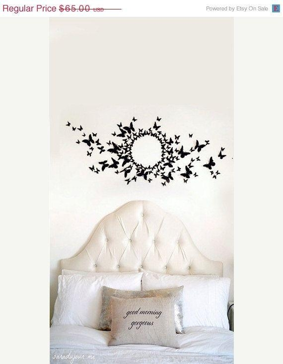 3284 Best For The Home Images On Pinterest | Butterfly Wall Art For 3D Wall Art Etsy (Image 10 of 20)