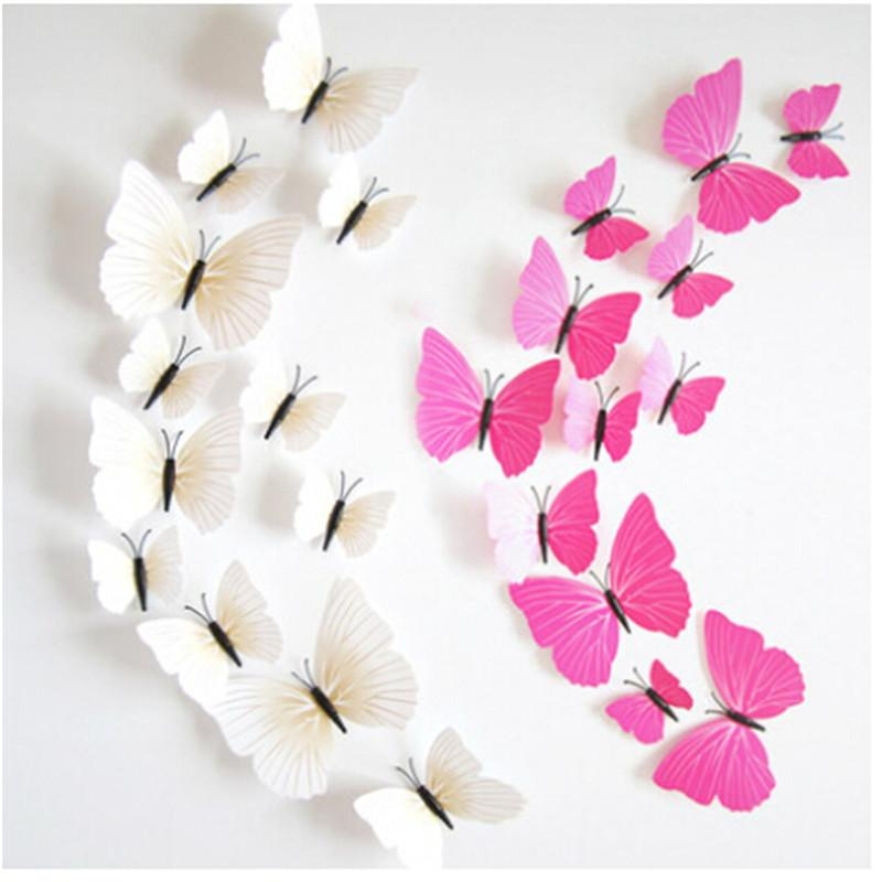 3D Butterfly Wall Art Diy – Wall Murals Ideas For Diy 3D Butterfly Wall Art (Image 9 of 20)