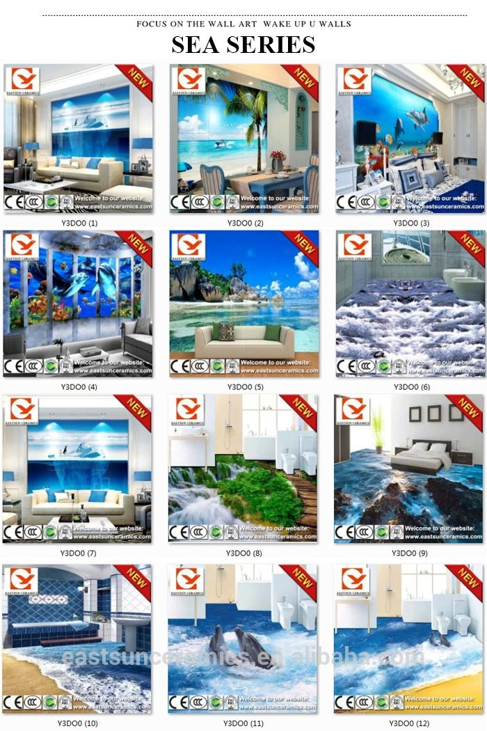 3D Design Wall Tile,3D Wall Painting Tile,great Wall Of China 3D Inside Great Wall Of China 3D Wall Art (View 14 of 20)