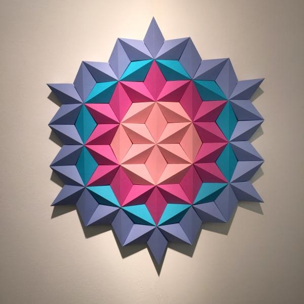 3D Design, Wallpaper Or Wall Art? | Linda Holt Interiors In 3D Wall Art With Paper (Image 8 of 20)
