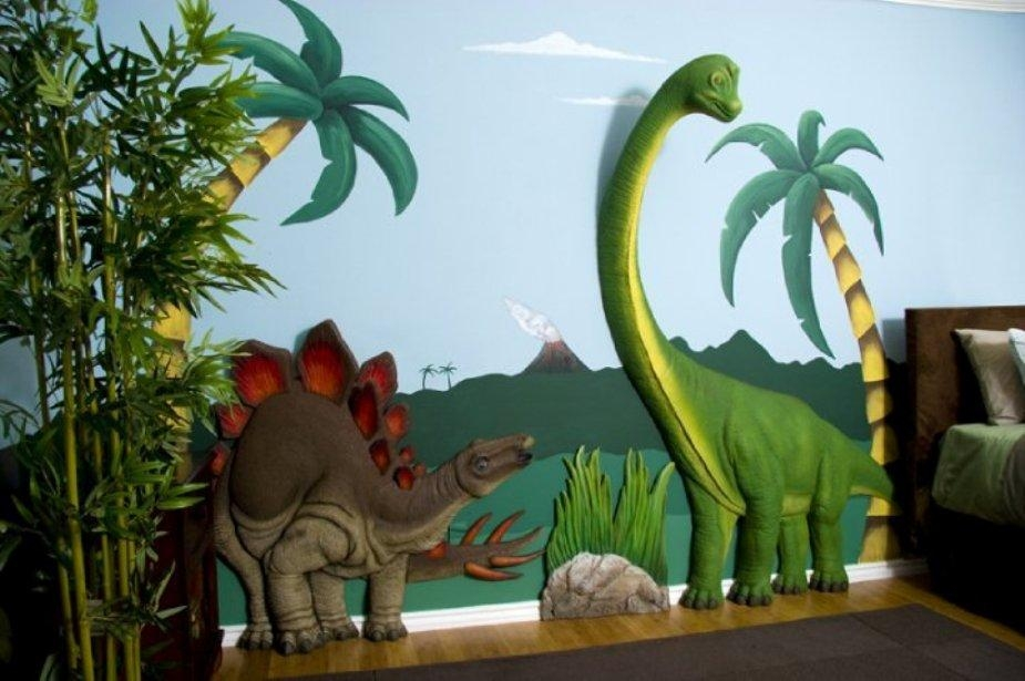 3D Dinosaur Wall Art Decor : 3D Wall Decor Ideas – The Latest Home Within 3D Dinosaur Wall Art Decor (Photo 4 of 20)