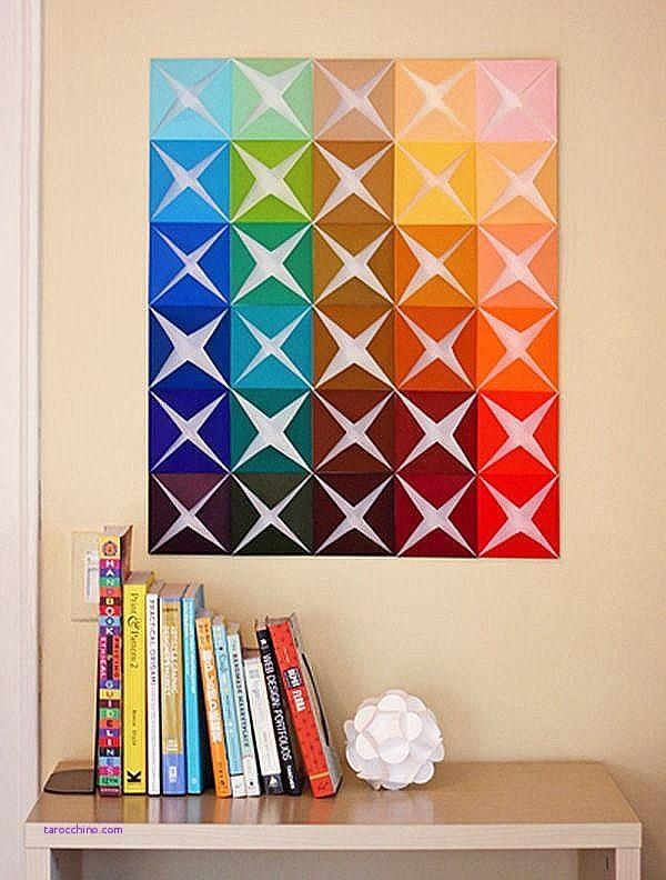 3D Diy Wall Art] Amazing Diy 3D Wall Art Ideas, Diy Room Decor 5 With Regard To 3D Triangle Wall Art (Image 4 of 20)