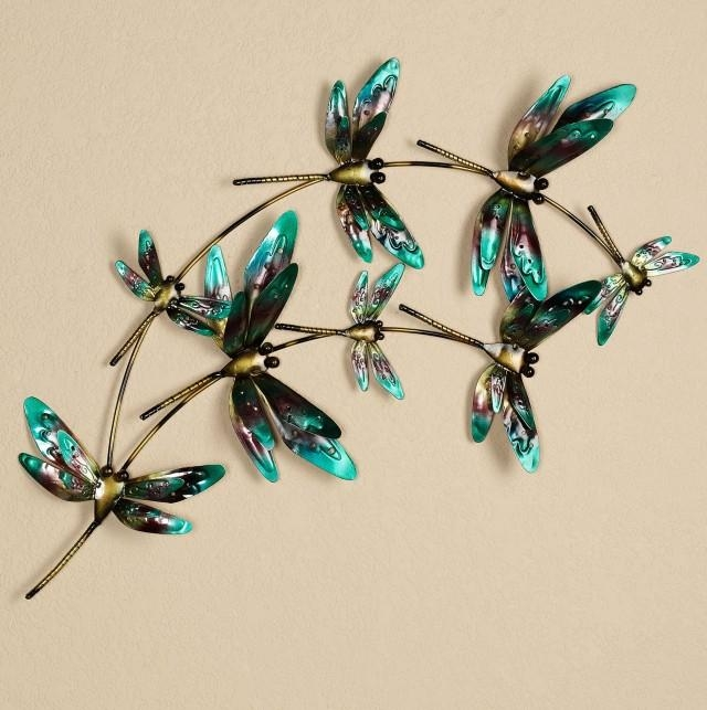 3D Dragonfly Wall Art | Home Design Ideas Pertaining To Dragonfly 3D Wall Art (View 7 of 20)
