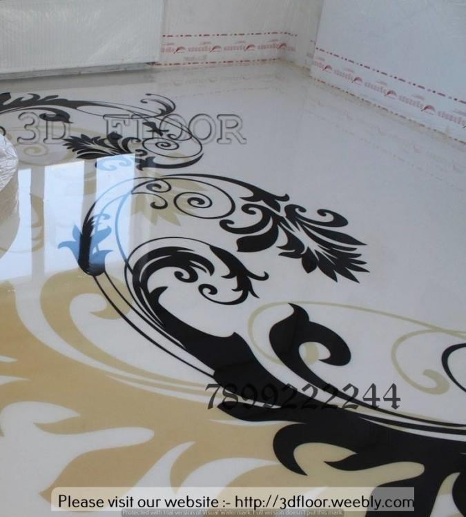 3D Flooring And 3D Wall Art Photos, Vijayanagar, Bangalore Throughout Bangalore 3D Wall Art (Image 4 of 20)