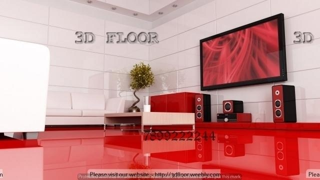 3D Flooring And 3D Wall Art, Vijayanagar – False Ceiling Regarding Bangalore 3D Wall Art (Image 6 of 20)