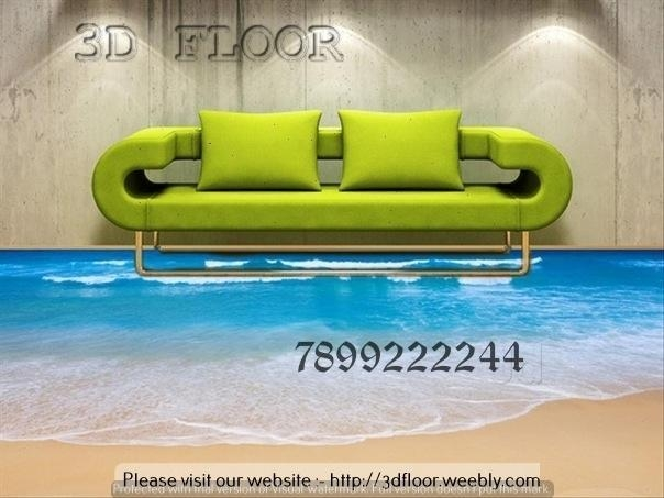 3D Flooring And 3D Wall Art, Vijayanagar – False Ceiling Within Bangalore 3D Wall Art (Image 7 of 20)
