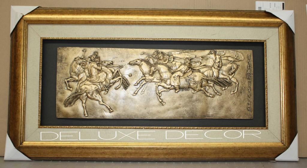 3D Horse Wall Art | Wallartideas Throughout 3D Horse Wall Art (Image 4 of 20)