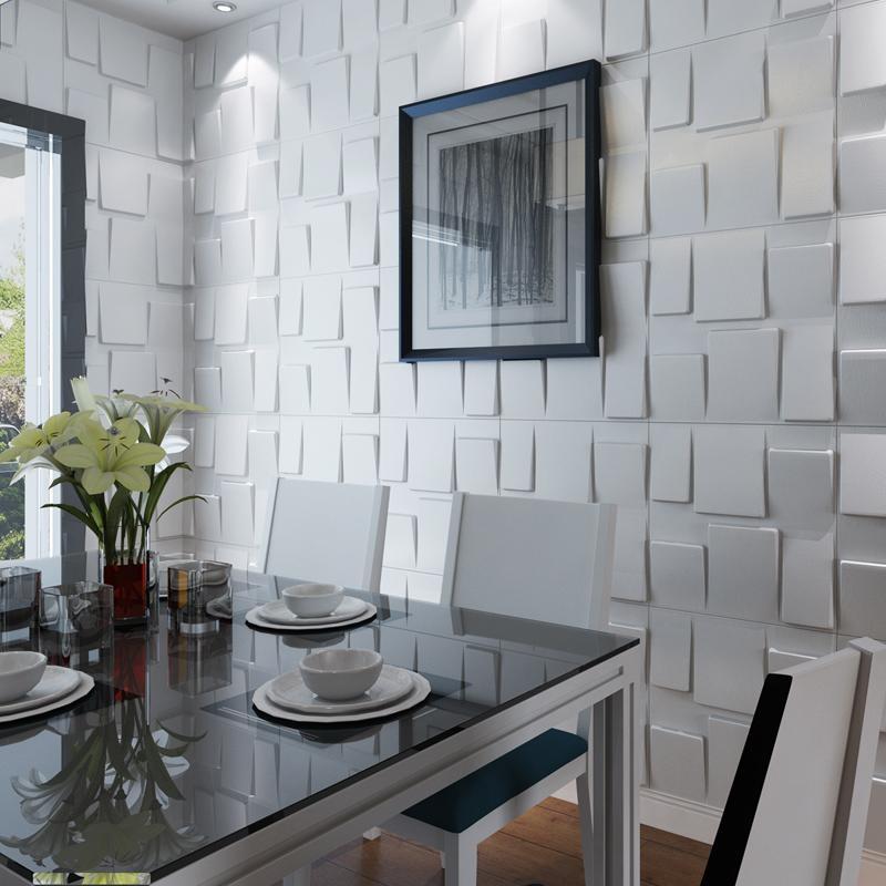 3D Modern Wall Art Cladding Textured Wall Panels Home Decor Regarding 3D Wall Panels Wall Art (Image 2 of 20)