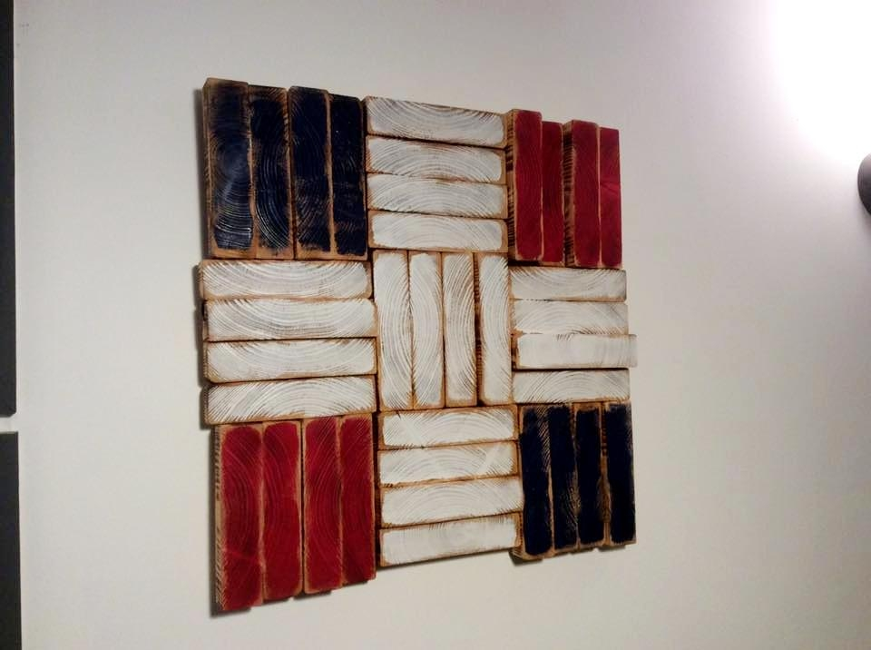 3D Pallet Wall Art To Decorate Your Home Wall | 99 Pallets Throughout Wood 3D Wall Art (Image 1 of 20)
