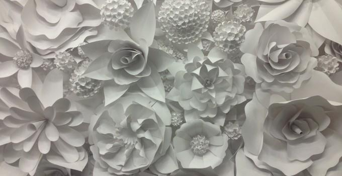 3D Paper Flower Wonder Wall Collection And Sculptures | Art Exists With Regard To 3D Flower Wall Art (Image 3 of 20)