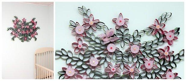 3D Paper Wall Art Diy | Wallartideas Pertaining To Diy 3D Paper Wall Art (Image 7 of 20)