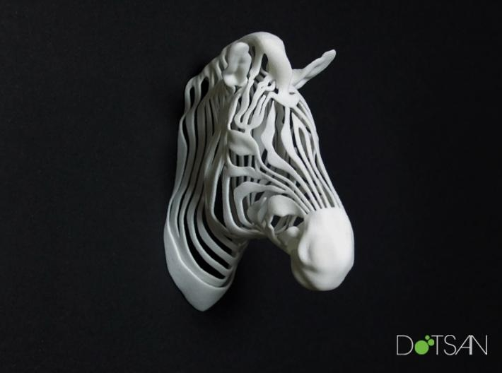 3D Printed Wired Life Zebra Trophy Head Wall (Drulyg3Xp)Dotsan Inside Zebra 3D Wall Art (Image 3 of 20)