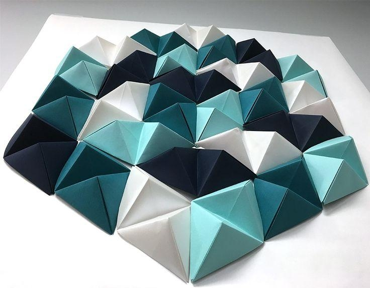 Featured Image of 3D Triangle Wall Art
