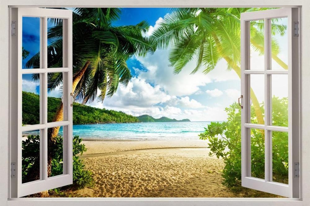 3D Wall Art Beach | Wallartideas Intended For Beach 3D Wall Art (Image 2 of 20)