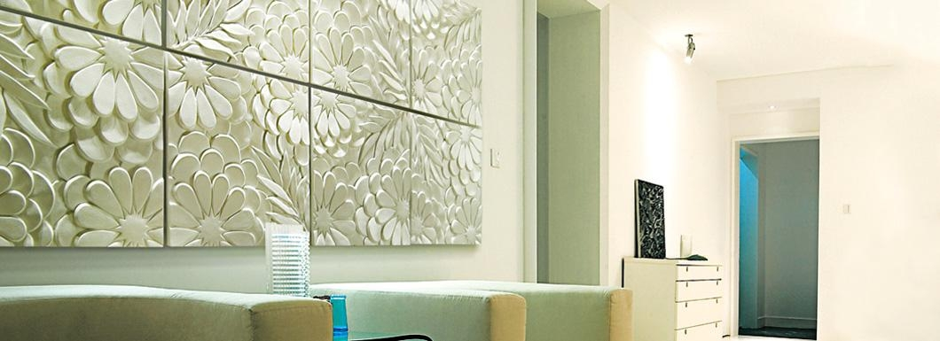 3D Wall Art Decor] Large Size Decoration Wall Art Crystal With 3D Wall Panels Wall Art (Image 3 of 20)