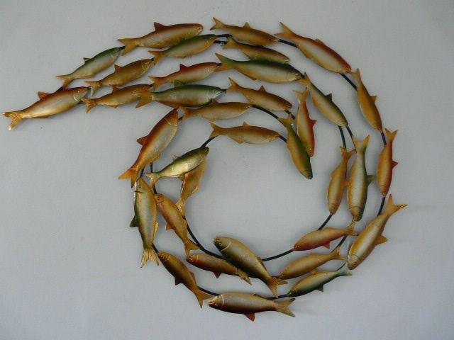 3D Wall Art Fish | Wallartideas Pertaining To Fish 3D Wall Art (Image 4 of 20)