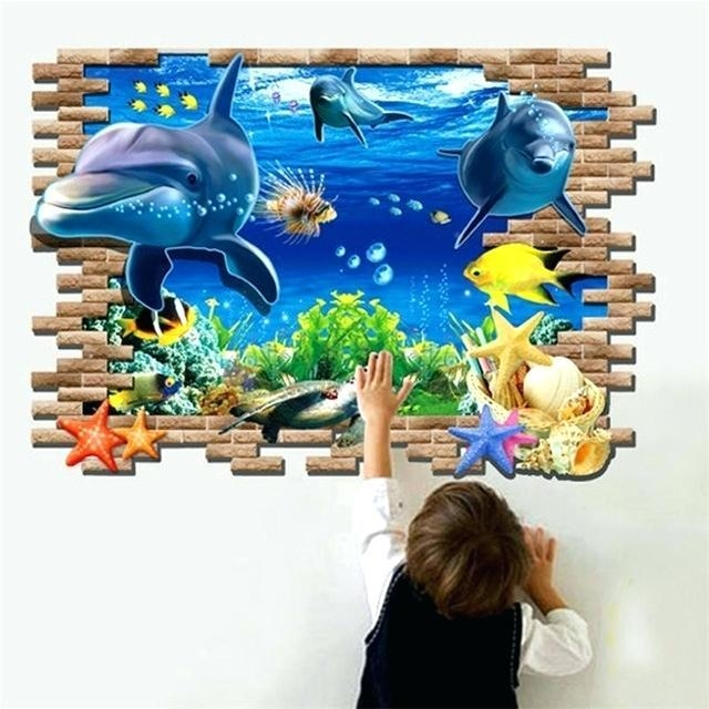 3D Wall Art Kids – Hydroloop Intended For 3D Wall Art Walmart (Photo 11 of 20)