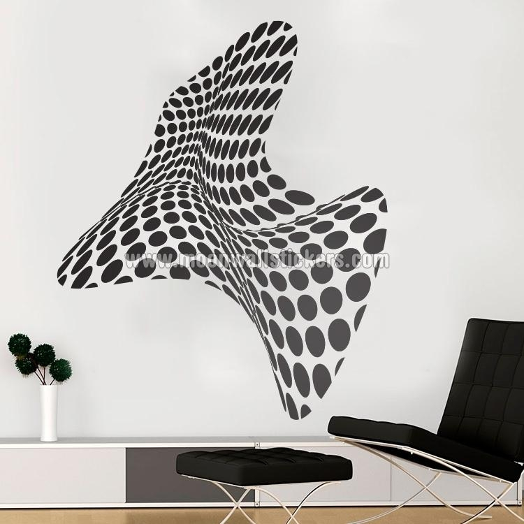 3D Wall Art – Moonwallstickers Intended For Decorative 3D Wall Art Stickers (Photo 9 of 20)