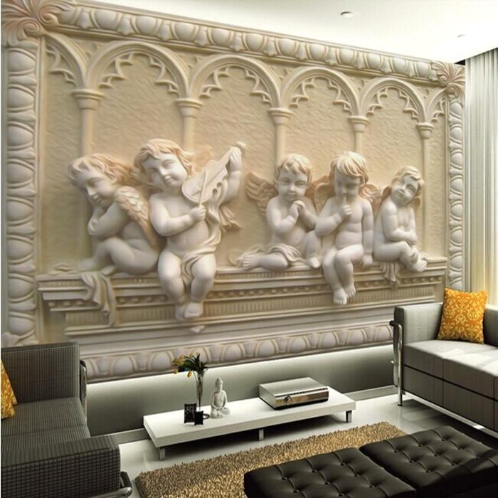 3D Wall Art Wallpaper Avec Wholesale Removable Murals With Jade For 3D Wall Art Wholesale (Image 1 of 20)