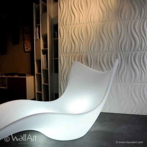 3D Wall Art Waves | Wallartideas In Waves 3D Wall Art (Image 2 of 20)