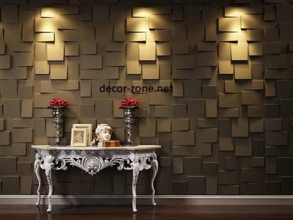 3D Wall Panels Ideas, Materials And Installation Tips Within 3D Wall Art And Interiors (Image 8 of 20)