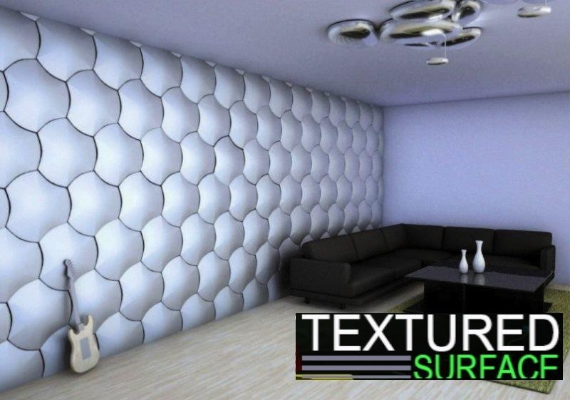 3D Wall Panels | Modern Contempo Throughout 3D Plastic Wall Panels (Image 4 of 20)